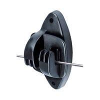 Speedrite Heavy Duty Wood Post Claw Insulator - Black Pack of 25