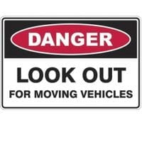 Silvan Sign Moving Vehicles - Look Out