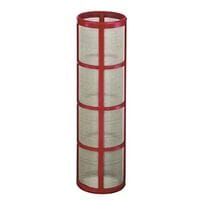 Teejet Filter Screen 50# Mesh Red To Suit 1.1/2 inch (40mm) Filter House