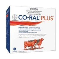 Bayer CoRal Plus Eartags 20 tags