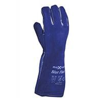 Blue Flame Welders Gauntlet Kevlar Stitched