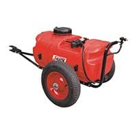 Silvan Selecta 55lt Redline Sprayer with Trailer and Nozzle Kit