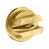 Teejet Off Centre Spray Nozzle Brass - 10 Packs