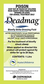 DEADMAG Blowfly Strike Dressing Fluid