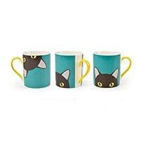 Burgon & Ball Creaturewares China Mug Cat