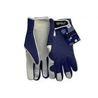 Sprout Goatskin Gloves Navy