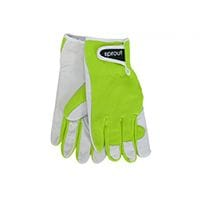 Sprout Goatskin Gloves Lime Green