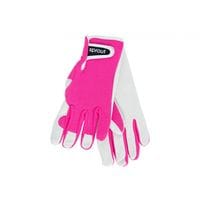 Sprout Goatskin Gloves Neon Pink