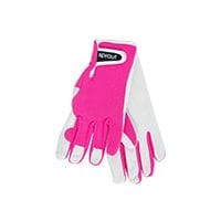 Sprout Goatskin Gloves Neon Pink