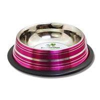 Bainbridge Cat Bowl Stainless Steel 250ml Metallic Coloured