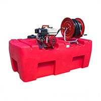 Silvan Selecta 800L Honda Twin Stage Fire Fighting Unit with 30m Hose