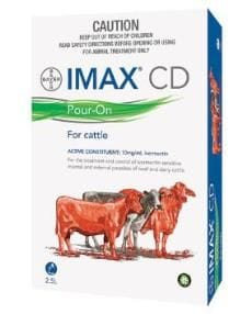 Bayer Imax CD Pour-On Cattle 500mL