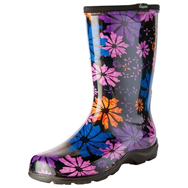 Sloggers Women's Splash Boots Flower Power