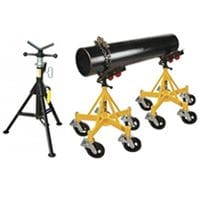 PIPE STANDS, ROLLS & CLAMPS