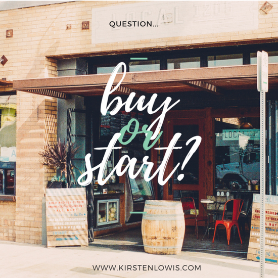 To buy or start-up... that is the question!