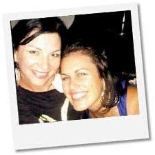 Kirsten Gadsby and Kellie Williams