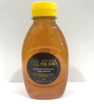 Sleepy Hollow Pure Honey - Red River Gum 500g
