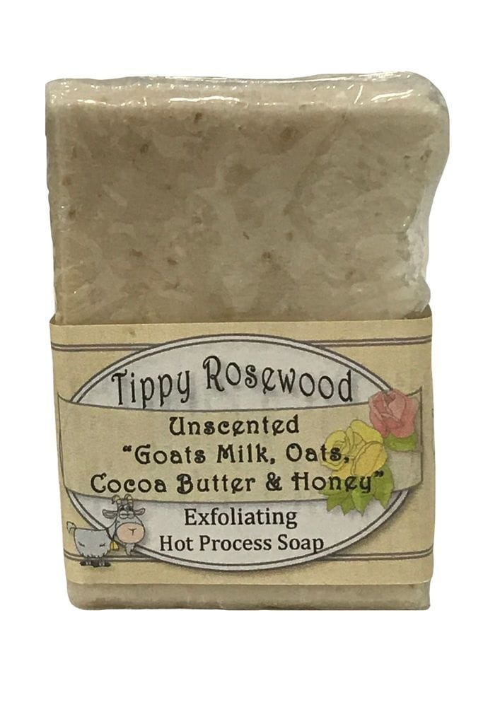 Thumbnail Tippy Rosewood Unscented Goats Milk, Oats, Coca Butter & Honey