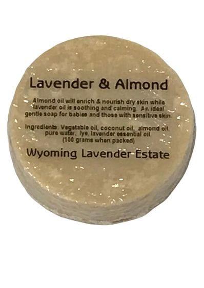 Wyoming Lavender Estate - Lavender & Almond Soap