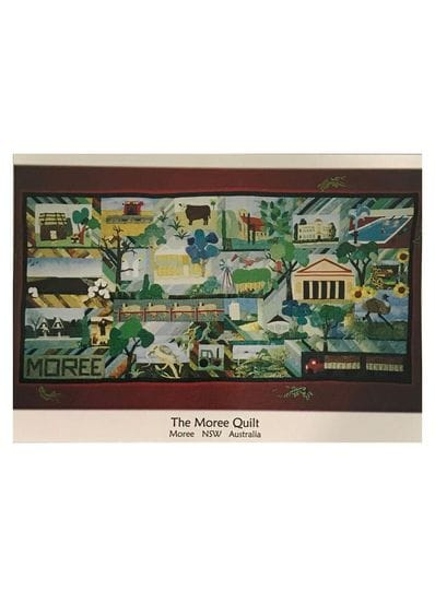 The Moree Quilt Postcard