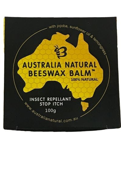 Australia Natural Beeswax Balm Insect Repellant Stop Itch 100g