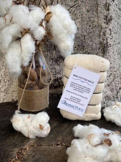 Mini Cotton Bales