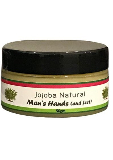 Jojoba Natural Man's Hands (and feet)