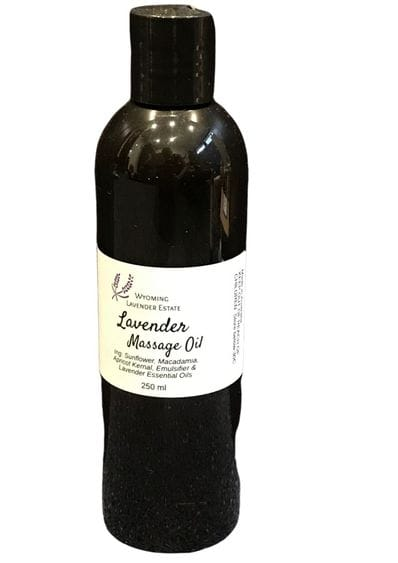 Wyoming Lavender Estate - Lavender Massage Oil 250ml