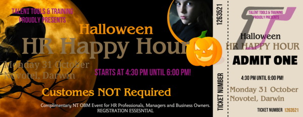 HR Happy Hour - NT OBM Event brought to you by Talent Tools & Training