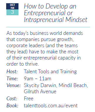 How to Develop an Entrepreneurial Mindset at Talent Tools