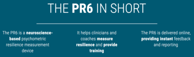 PR6 The Predictive 6 Factor Resilience Scale and RESICoach Training at Talent Tools