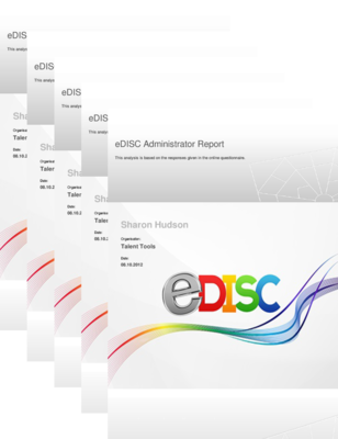 eDISC, DISC, DISC Advanced, Extended DISC, FinxS Reports at Talent Tools