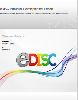 eDISC Individual Developmental Report