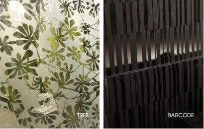 Satin Acid Etched Glass - Partitions, Splashbacks, Baulstrades By ISPS Innovations