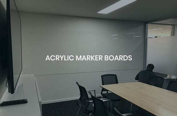 Acrylic Marker Boards