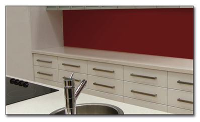 Bonethane  Splashback DIY . Single Sheet 3000 x 760 x 5mm