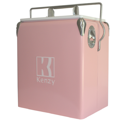 17L Pink Flamingo Retro Cooler