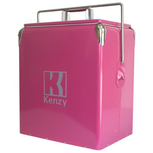 17L Wild Pink Retro Cooler