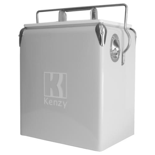 17L Cool Grey Retro Cooler