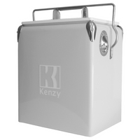 17L Cool Grey Retro Cooler