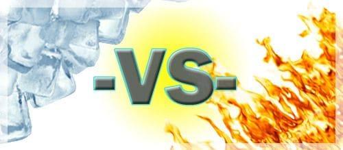 Ice VS Heat