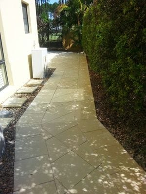 After Skape structural Landscaping