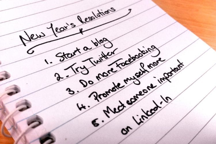 5 New Year Resolutions for a Social Media Revolution