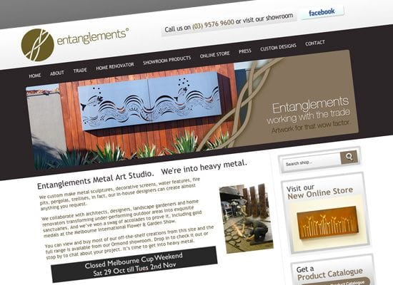 Client Spotlight - Entanglements