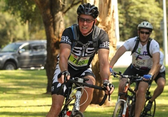 Bloomtools Franchisee rides for charity
