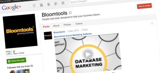 Google+ a big plus for business