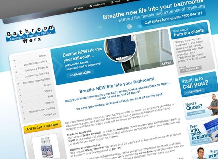 Client Spotlight - Bathroom Werx