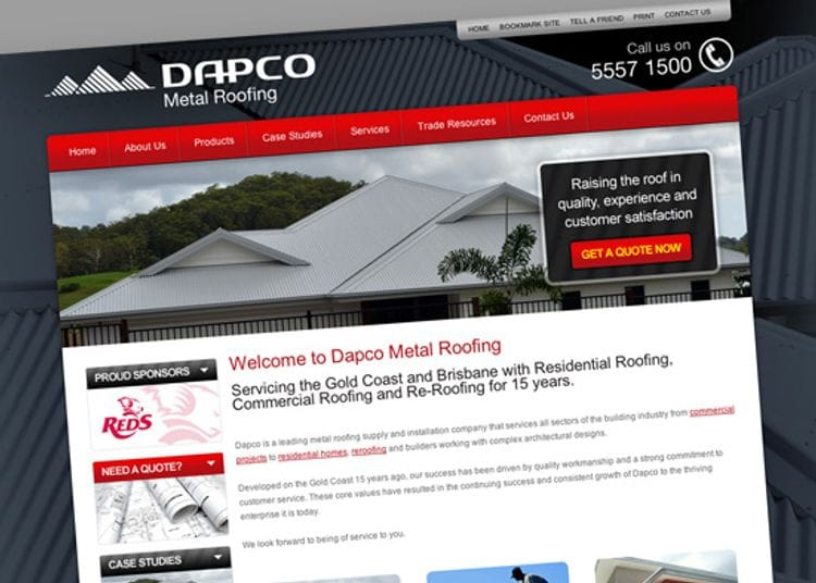 Client Spotlight - Dapco Metal Roofing