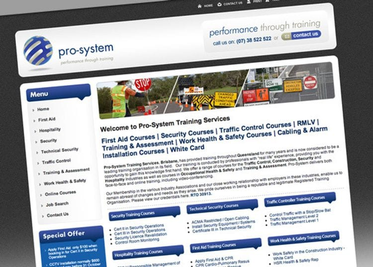 Client Spotlight - Pro-System Training Services