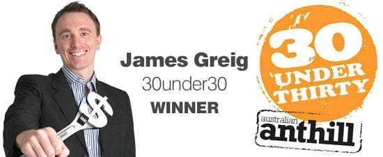 Bloomtools Founder winner in the 30 under 30